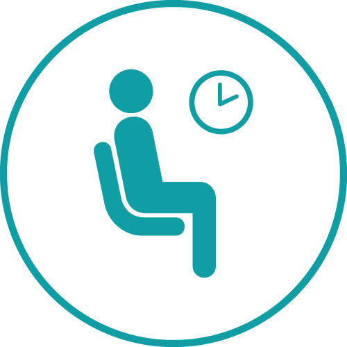 Industry Lowest Waiting Times icon