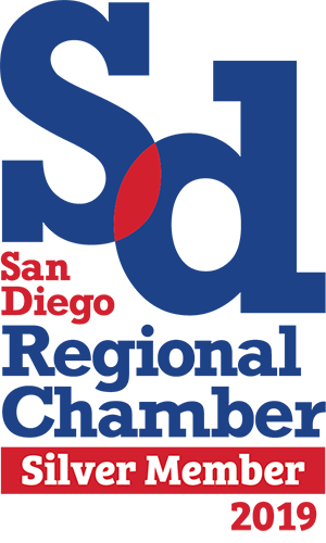 San Diego Regional Chamber - Silver Member 2019