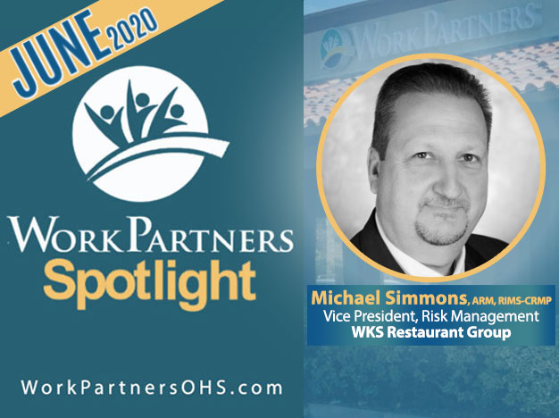 Michael W. Simmons, ARM-P, RIMS-CRMP, Vice President, Risk Management at WKS Restaurant Group