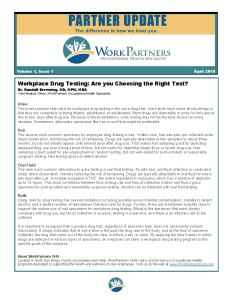 April2016 Choosing Right Drug Test